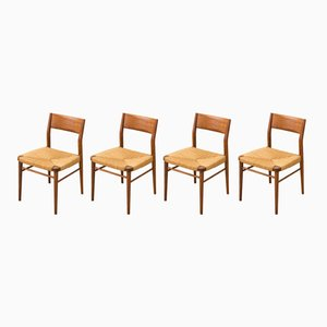 Chairs by Georg Leowald for Wilkhahn, 1950s, Set of 4