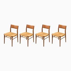 Stühle von Georg Leowald für Wilkhahn, 1950er, 4er Set