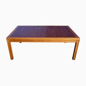 Mesa de centro de teca de Rolf Middelboe & Gorm Christensen para Tranekaer Furniture, años 70