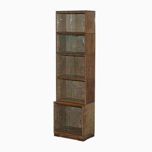 Modulares Bücherregal aus gekalkter Eiche von Minty, 1930er