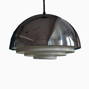 Lámpara colgante Milieu danesa de Johannes Hammerborg para Fog & Mørup, años 70