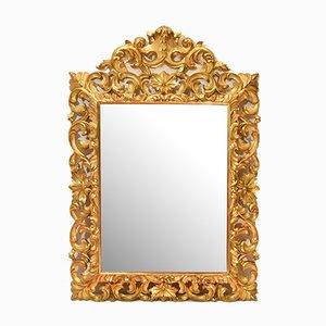 Antiker Spiegel mit Goldrahmen