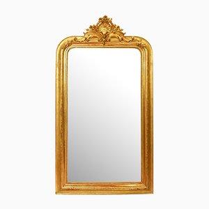 Antique Golden Framed Mirror
