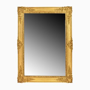 Antique Rectangular Golden Framed Mirror