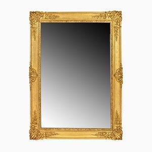 Espejo antiguo con marco dorado en venta en pamono for Espejo rectangular con marco