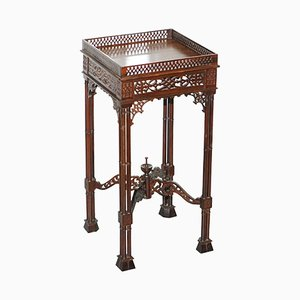 Antique Mahogany Stand