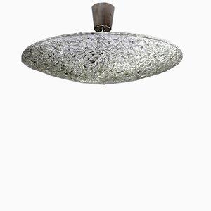 Vintage Einbaulampe aus Dispersionsglas von Stölzle