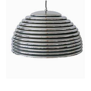 Large Mid-Century Saturno Pendant Lamp by Kazuo Motozawa for Staff Leuchten, 1960s