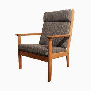 Dänischer GE265 Sessel von Hans J. Wegner für Getama, 1970er