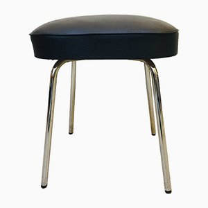 Leatherette Stools from Thonet, 1960s, Set of 2