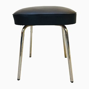 Leatherette Stool from Thonet, 1960s