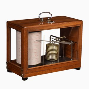 Antique Barograph from R Fuess