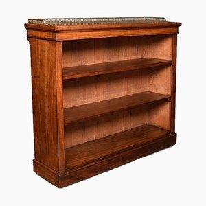 19th Century Mahogany Open Bookcase