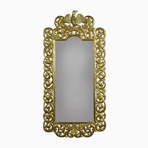 Antique Florentine Gilt Wall Mirror
