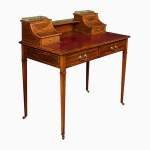 Edwardianischer Schreibtisch aus Mahagoni