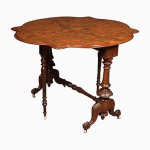 Table Sutherland Antique en Loupe de Noyer
