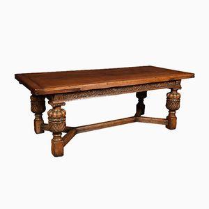 Antique Oak Draw Leaf Table