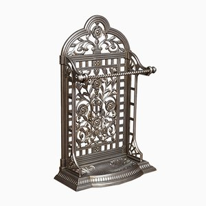 Victorian Cast Iron Coalbrookdale Style Umbrella Stand