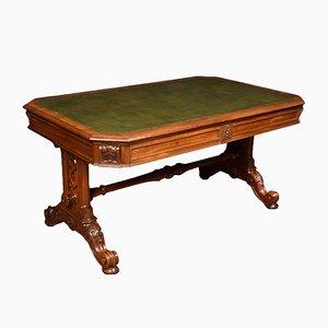 Table de Bibliothèque Style Gothique, 19ème Siècle