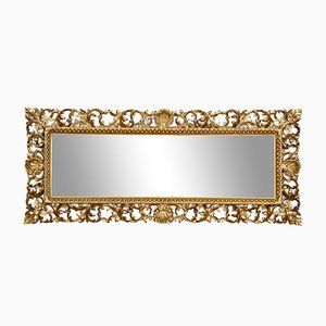 Antique Florentine Giltwood Wall Mirror