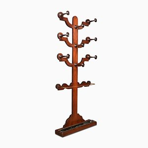 Victorian Mahogany Tree of Life Hall Stand