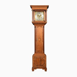 Antique Oak Grandmother Clock from Patterson London