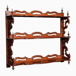 Late Victorian Mahogany Bookshelf