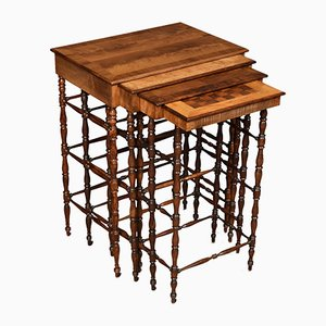Antique Regency Nesting Tables