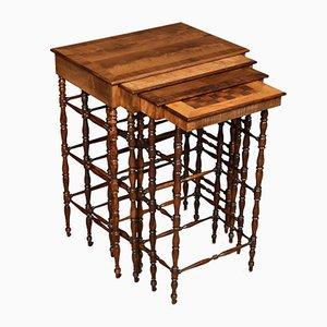 Tavolini ad incastro Regency antichi