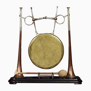 Gong Victorien Antique de Henry Keat & Sons