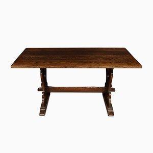 Table de Réfectoire Antique en Planche de Chêne