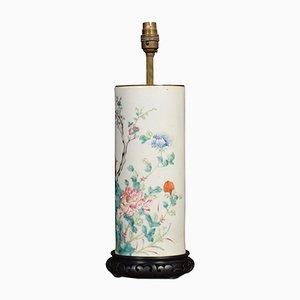Lámpara de mesa Famille Verte antigua
