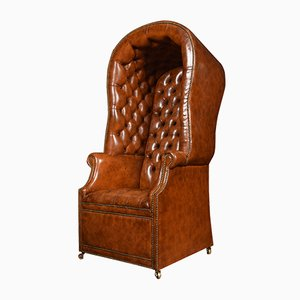 Antique Regency Style Hall Porter's Chair