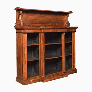 Antique Regency Rosewood Open Bookcase by John Kendall