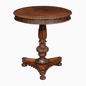 Antiker William IV Säulentisch aus Palisander