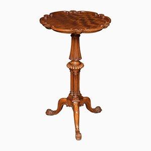 Dreibeiniger George III Tisch aus Satinholz