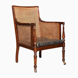 Antique Regency Mahogany Bergère Armchair