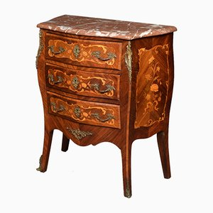 Antique Kingwood and Marquetry Commode