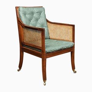 Antiker Regency Sessel aus Mahagoni