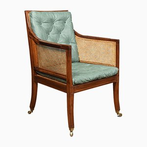 Antique Regency Mahogany Armchair