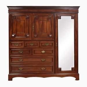Antique Cuban Mahogany Wardrobe