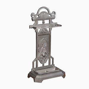 19th-Century Cast Iron Umbrella Stand