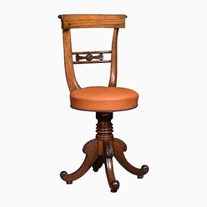 Victorian Rosewood Revolving Dressing or Music Chair