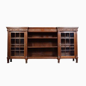 Large Antique Mahogany Bookcase from Maple & Co