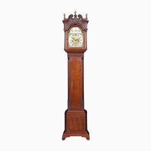 Petite Horloge Antique en Acajou