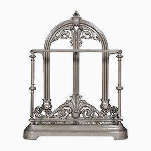 Victorian Cast Iron Umbrella Stand from Coalbrookdale Foundry