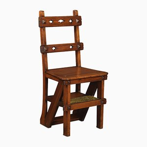 19th Century Walnut Metamorphic Chair
