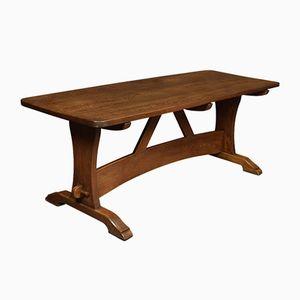 Großer antiker Speisesaal Tisch aus Eiche