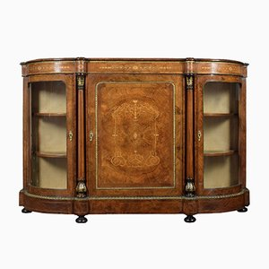 Figured Walnut Credenza, 1870s