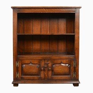Vintage Oak Bookcase, 1930s